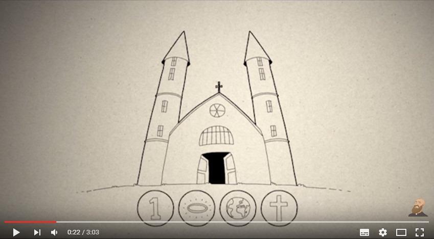 3 Minuti di Catechismo - Quali sono le caratteristiche della Chiesa?