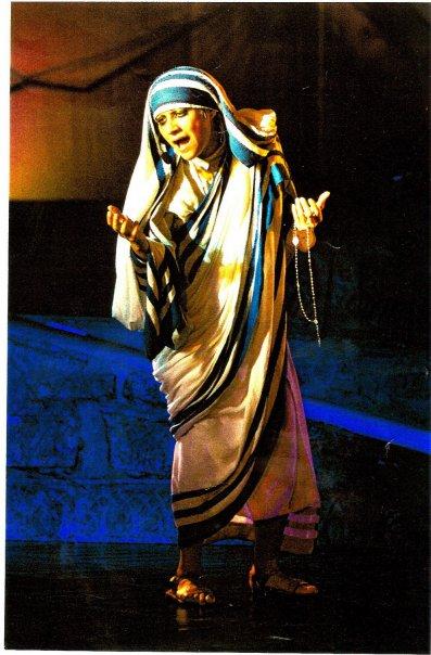 """""""Interpretare Madre Teresa di Calcutta è stata un emozione grandissima"""""""