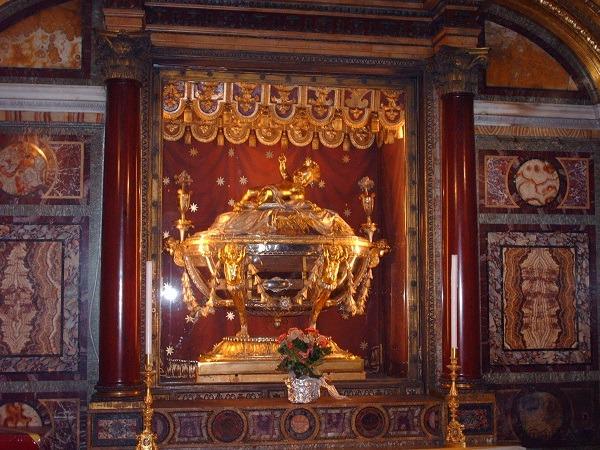 Reliquiario della Sacra Culla in Santa Maria Maggiore