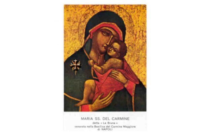 Santino della Madonna del Carmine