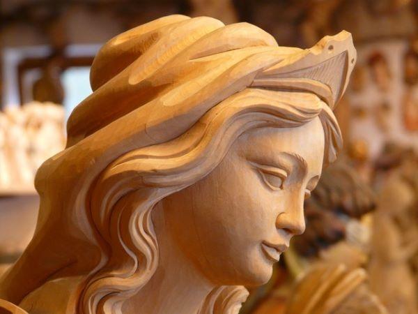 Maria, donna, Madre, discepola, statua, figura