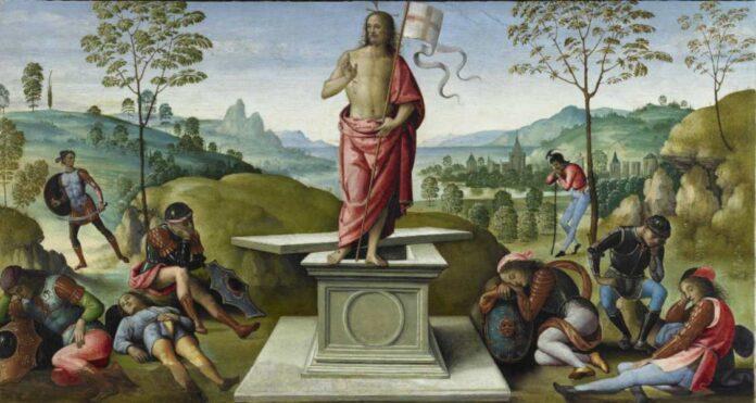 Perugino-La-Resurrezione-polittico-di-San-Pietro-1496-1500-Musée-des-Beaux-Arts-Rouen-©-C.Lancien-C.Loisel-Musées-de-la-Ville-de-Rouen