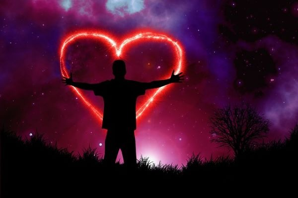 abbraccio, amore, Dio, uomo, apertura