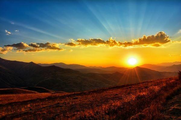 alba, sole