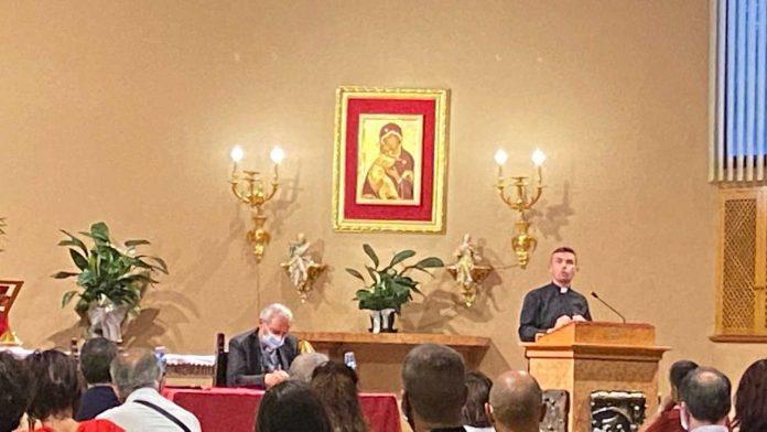 Don Luigi Maria Epicoco presentazione libro a Bologna con cardinale Zuppi