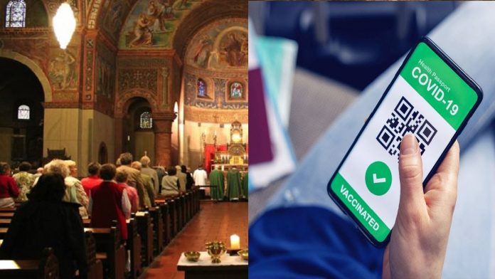 Messa chiesa green pass